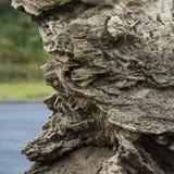 Roca natural hermosa Foto de archivo libre de regalías