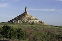 Roca Nebraska de la chimenea Foto de archivo libre de regalías