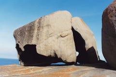 Roca notable Foto de archivo libre de regalías