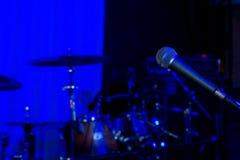 Roca o fondo del concierto del jazz Foto de archivo libre de regalías