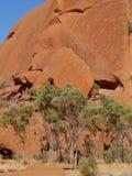 Roca o Uluru de Ayers en Australia Fotos de archivo libres de regalías