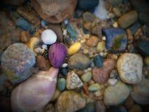 Roca púrpura Foto de archivo