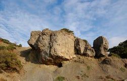 Roca pintoresca de la piedra arenisca Fotografía de archivo