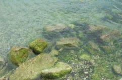 Roca-piscina Imagenes de archivo