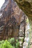 Roca que llora Imagen de archivo