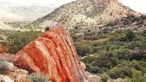 Roca roja Fotografía de archivo libre de regalías