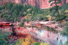 Roca roja Fotos de archivo