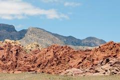 Roca roja Fotografía de archivo