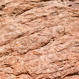 Roca roja Imagen de archivo libre de regalías