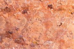 Roca roja Imágenes de archivo libres de regalías