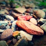 Roca roja Imagenes de archivo