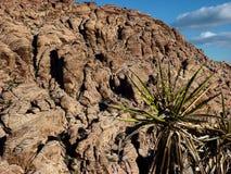 Roca roja fuera de Las Vegas Fotos de archivo