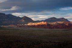 Roca roja, Las Vegas Fotos de archivo