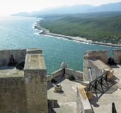 roca san замока de la pedro Стоковые Фотографии RF