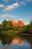 Roca Sedona AZ de la catedral Imagenes de archivo
