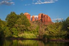Roca Sedona AZ de la catedral Fotos de archivo libres de regalías