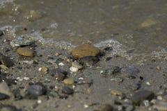 Roca sumergida Fotografía de archivo libre de regalías