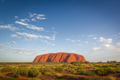 Roca Uluru de Ayers imágenes de archivo libres de regalías