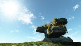 Roca vieja Imagen de archivo libre de regalías
