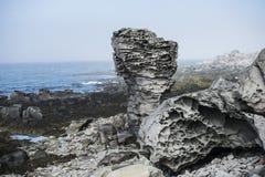 Roca volcánica Foto de archivo