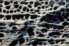 Roca volcánica de la toba volcánica Imágenes de archivo libres de regalías