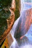 Roca y agua Fotografía de archivo