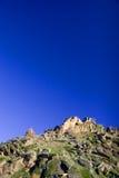 Roca y cielo Fotografía de archivo libre de regalías