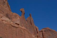 Roca y cielo Imagen de archivo libre de regalías