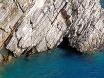 Roca y mar Fotografía de archivo libre de regalías
