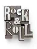 Roca y rodillo foto de archivo libre de regalías