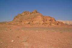 Roca y terreno rojo Imagenes de archivo
