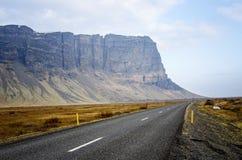 Rocade de l'Islande Photographie stock libre de droits