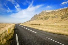 Rocade de l'Islande Images stock