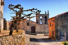 Rocamador church in Castelo Rodrigo Stock Photo