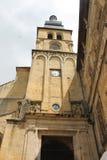 Rocamadour教会 库存图片
