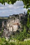 Rocamadour窗口 免版税库存照片