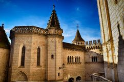 Rocamadour, ένα από το ομορφότερο χωριό στη Γαλλία, θρησκευτικός προορισμός στοκ φωτογραφία με δικαίωμα ελεύθερης χρήσης