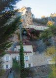 Rocamadour σε Occitan στοκ εικόνες με δικαίωμα ελεύθερης χρήσης