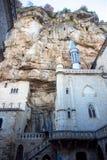 Rocamadour σε Occitan στοκ φωτογραφία