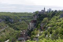 Rocamadour royaltyfria foton