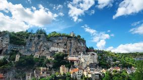 Rocamadour obraz royalty free