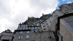 Rocamadour stockbild