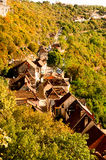 Rocamadour from above Royalty Free Stock Photos