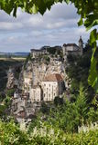 Rocamadour-Fenster Lizenzfreies Stockfoto
