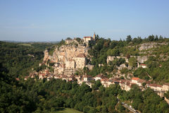 Rocamadour france Imagem de Stock Royalty Free