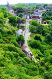 Rocamadour, France - aerial view Royalty Free Stock Image
