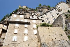Rocamadour. France as seen from downtoown Stock Images