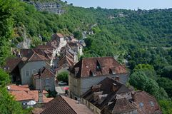 Rocamadour, France Stock Images