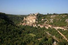 Rocamadour Frankrijk Royalty-vrije Stock Foto