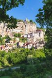Rocamadour in Lot department in France. Stock Photo